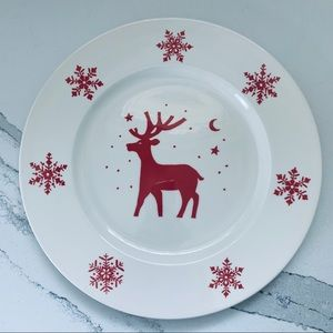 "Royal Stafford 12"" Reindeer Cookie Plate"